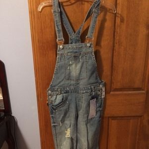 Almost Famous Premium Denim Overalls